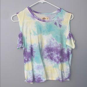 hollister tie-dye T-shirt